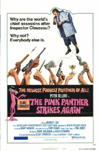 The Pink Panther Strikes Again (1976) poster