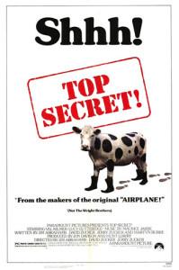 Top Secret! 1984 movie poster