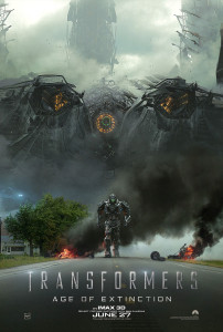 Transformers: Age of Extinction (2014) film poster