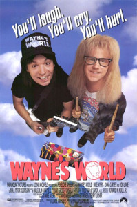 Wayne's World (1992) movie poster
