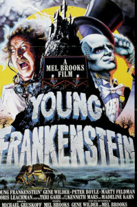 Young Frankenstein (19740 movie poster