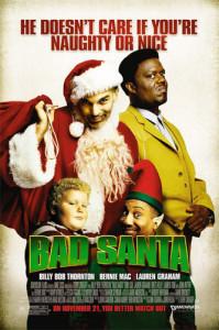 Bad Santa (2003) movie poster