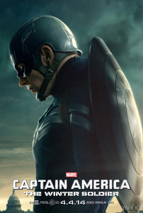 Captain America: The Winter Soldier (2014) movie poster