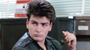 Charlie Sheen in Ferris Buellers Day Off