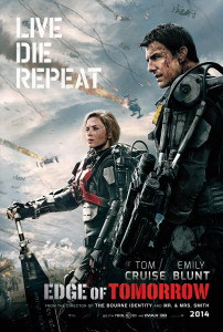 Edge of Tomorrow (2014) movie poster
