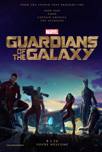 Guardians Of The Galaxy (2014) movie poster