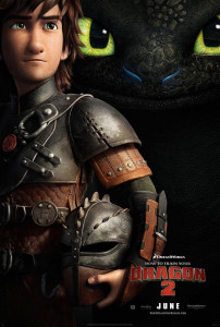 How To Train Your Dragon 2 (2014) teaser poster