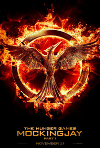 The Hunger Games: Mockingjay Part 1 (2014) teaser poster