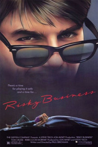Risky Business (1983) poster