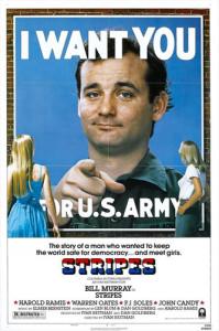 Stripes (1981) movie poster