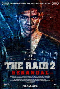 The Raid 2: Berandal (2014) movie poster
