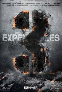 The Expendables 3 (2014) cinema poster
