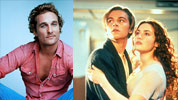 Matthew McConaughey and Leo DiCaprio