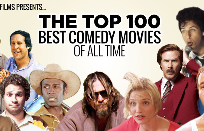 Top 100 Best Comedy Movies of All-Time